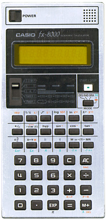 Casio fx-8000 picture